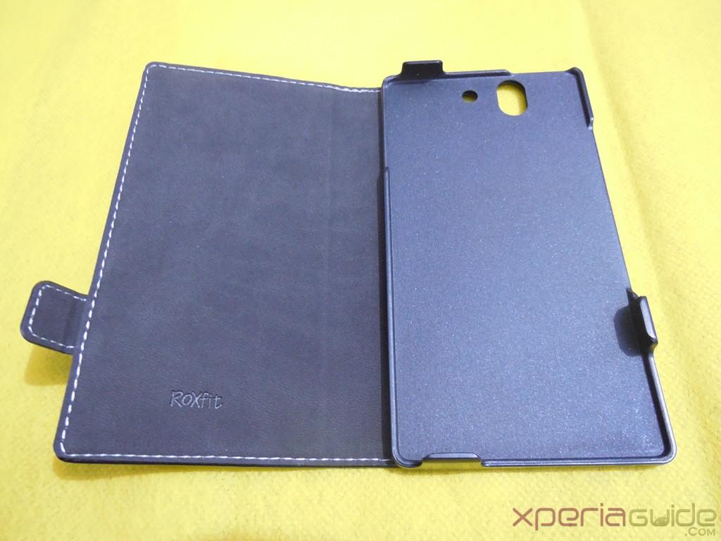 Xperia Z flip Case by Roxfit Inner Lining