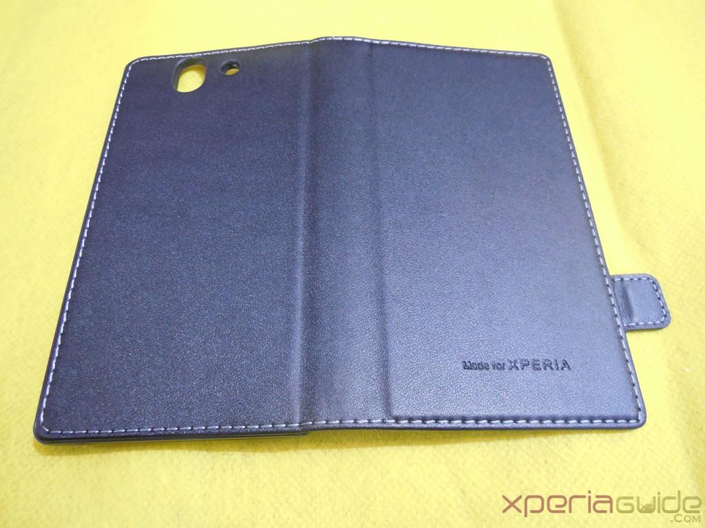Xperia Z flip Case by Roxfit fold