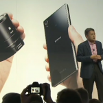 Kazuo Hirai shows the world Xperia Z1