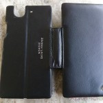 Noreve Sony Xperia Z leather case back profile