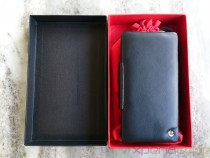 Noreve Sony Xperia Z leather case box cotnents