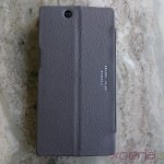 Noreve Xperia Z Ultra leather case back profile