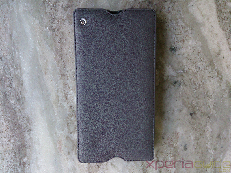 Noreve  Xperia Z Ultra leather case top profile