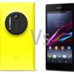 Sony Xperia Z1 vs Nokia Lumia 1020 Camera Comparison