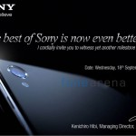 WATCH Xperia Z1 Launch in India on 18 September LIVE Video Streaming from New Delhi