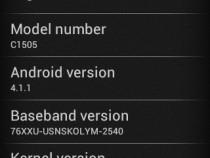 Xperia E C1505 11.3.A.2.23 firmware Details
