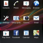 Xperia E C1505 11.3.A.2.23 firmware Home launcher