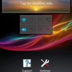 Xperia E C1505 11.3.A.2.23 firmware widgets