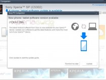 Xperia SP 12.0.A.2.254 firmware update for C5302 via PC Companion