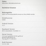 Xperia Z Ultra C6802 14.1.B.1.526 Firmware Update Rolled Out