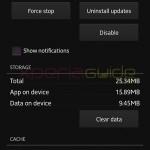 Xperia Z Walkman 7.12.A.0.0 App OTA update size