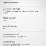 Xperia Z1 Android 4.2.2 14.1.G.1.531 Firmware Update Rolled Out
