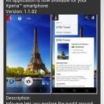 Xperia Z1 Camera app Info-eye version 1.1.02 OTA update notification
