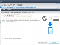 Xperia ZR C5502 Android 4.2.2 10.3.1.A.2.67 firmware Update via PC Companion