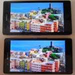 Xperia Z1 Triluminos Display Vs Xperia Z Display Comparison - City Background