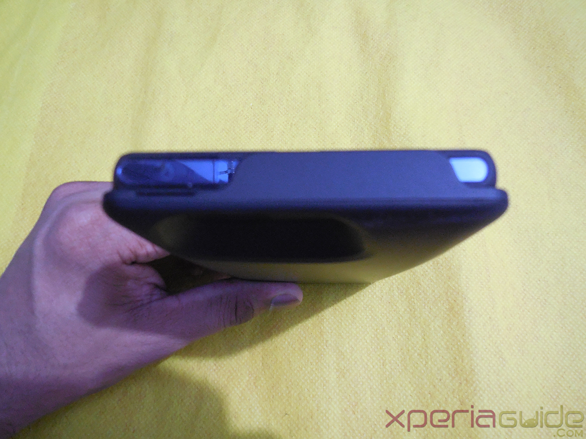 Mugen Power 3000mAh Battery Case for Sony Xperia Z - Bottom Profile