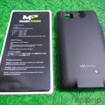 Mugen Power 3000mAh Battery Case for Sony Xperia Z - Out of Box Cover