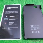 Mugen Power 3000mAh Battery Case for Sony Xperia Z - Out of Box