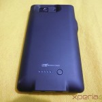 Mugen Power 3000mAh Battery Case for Sony Xperia Z - Back Side