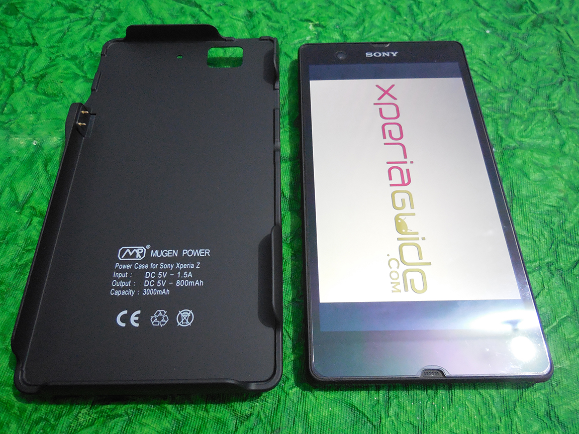 Mugen Power 3000mAh Battery Case for Sony Xperia Z C6602