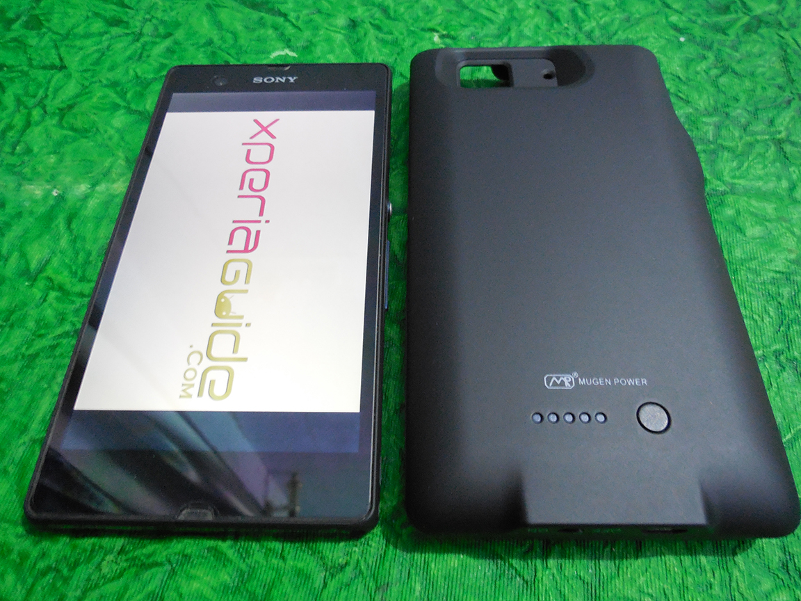 Mugen Power 3000mAh Battery Case for Sony Xperia Z C6602 India