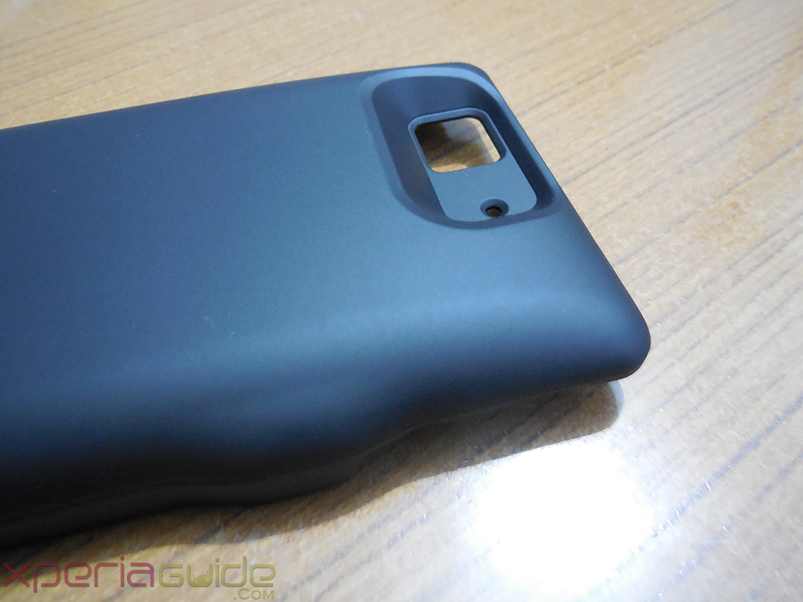 Mugen Power 3000mAh Battery Case for Sony Xperia Z - Camera Opening