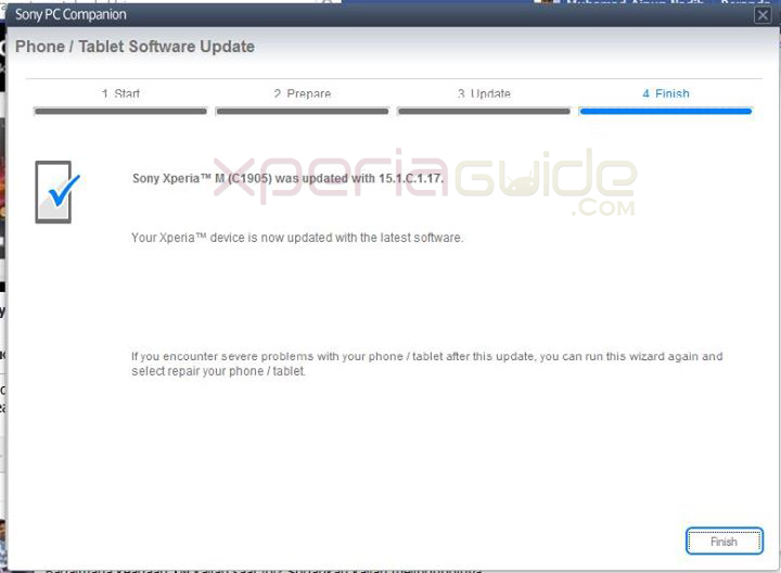 Xperia M 15.1.C.1.17 Firmware update rolled out