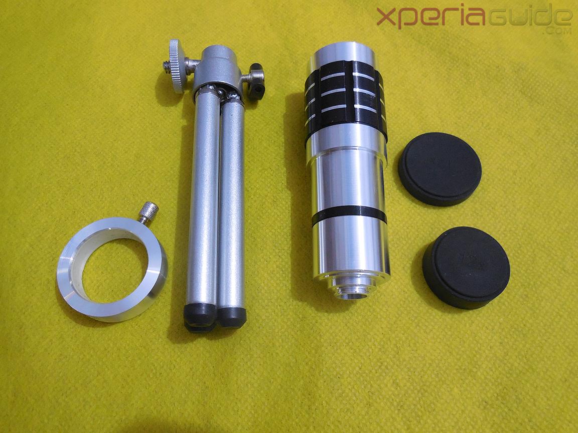 Xperia Z 12x Zoom Telescope with Tripod Stand - Telephoto lens