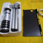 Xperia Z 12x Zoom Telescope with Tripod Stand - Box Content