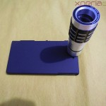 Xperia Z 12x Zoom Telescope with Tripod Stand - Back Cover Tightened with lens