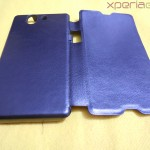Muvit Sony Xperia Z wireless charging pack - Charging case back side