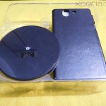 Muvit Sony Xperia Z wireless charging pack content