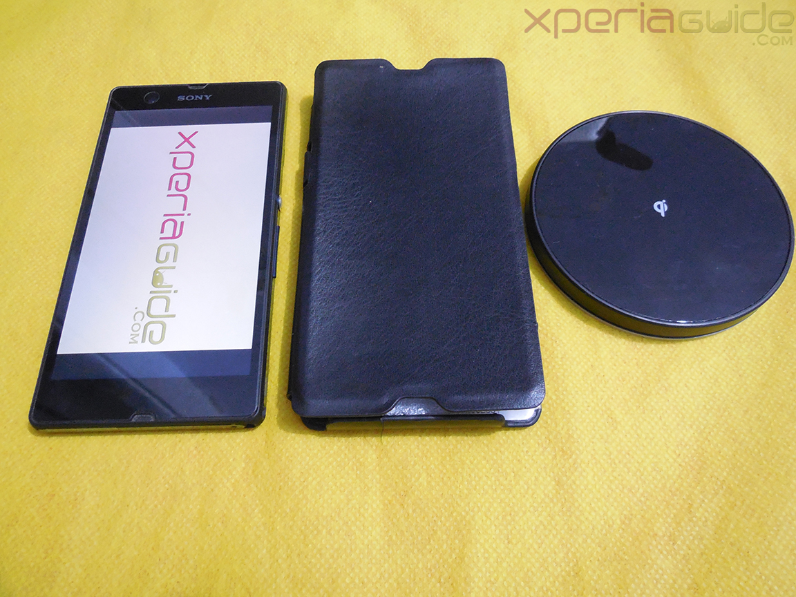 Muvit Sony Xperia Z wireless charging pad and case