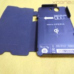 Muvit Sony Xperia Z wireless charging pack - Charging case parts