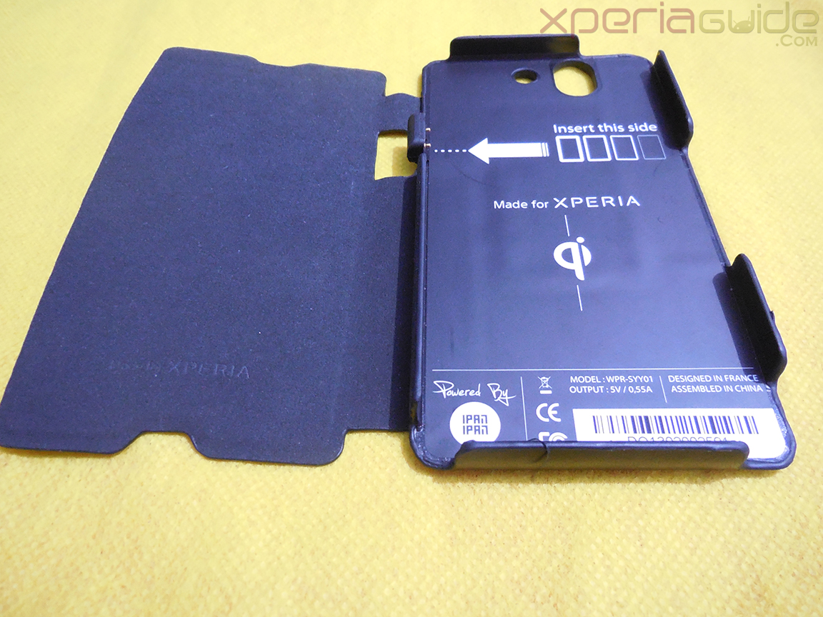 san francisco a2848 d3884 Muvit Sony Xperia Z wireless charging pack - Charging case parts ...