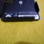 Muvit Sony Xperia Z wireless charging pack - Charging case markings