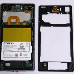 Xperia Z1 Dismantling – Tear Down All parts removed – G Lens Exposed