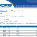 PTCRB Certified Xperia Z1 14.1.G.2.259 Firmware – Minor Carrier Based Update