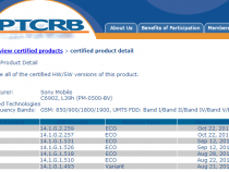 PTCRB Certified Xperia Z1 14.1.G.2.259 Firmware - Minor Update
