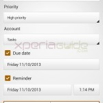 Xperia Z1, Z Ultra Tasks App version 1.0.A.0.1 Available for OTA Download