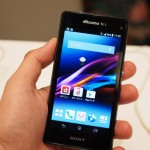 Sony Xperia Z1 f (SO-02F) Hands on Expereince Photos