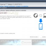 Xperia Tablet Z SGP321 10.3.1.A.2.67 firmware update Rolled Out