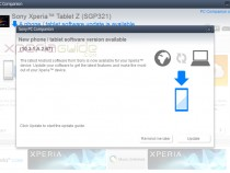 Xperia Tablet Z SGP321 10.3.1.A.2.67 firmware update Out