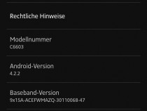 Xperia Z C6603 10.3.1.A.2.74 firmware Update Rolled Out