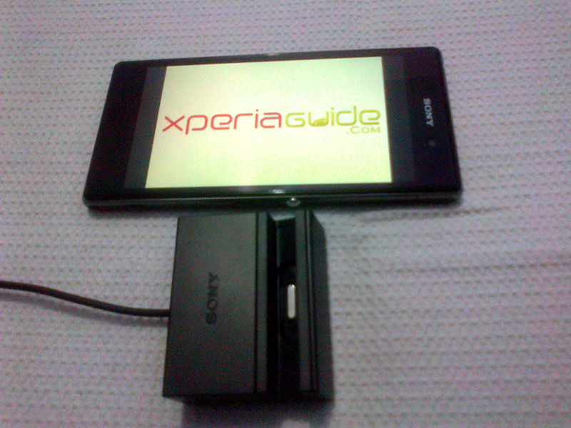 Sony Magnetic Charging Dock DK31 for Xperia Z1 REVIEW