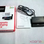 Sony Magnetic Charging Dock DK31 Contents of box