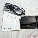 Sony Magnetic Charging Dock DK31 Contents
