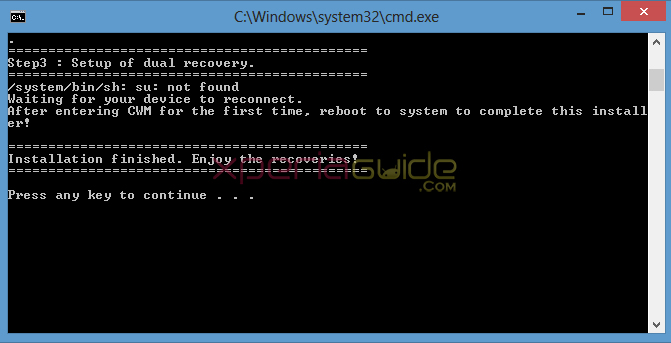 Install Dual Recovery on Xperia Z1 Locked Bootloader - CWM + TWRP