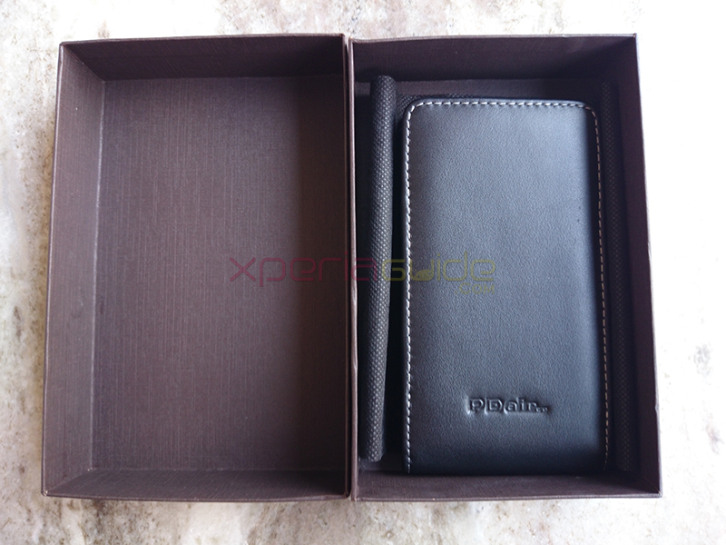 PDair Xperia Z1 Vertical Pouch Leather Case Review