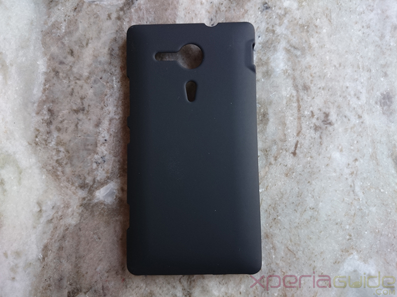 PDair Xperia SP Rubberized Back Hard Cover Review